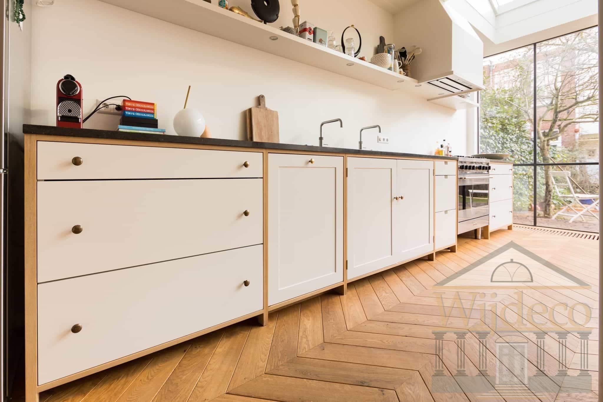 Keuken Op Maat : Amsterdam houten keuken op maat gemaakt wijdeco